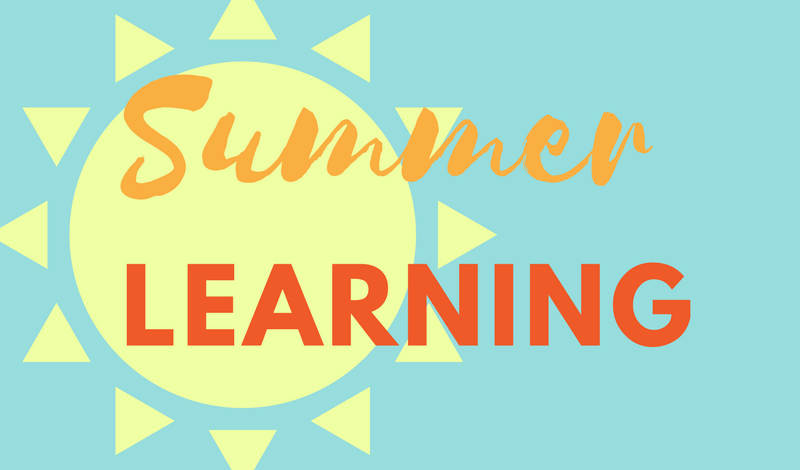 Summer 2018 Learning Resources