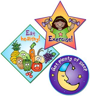 Healthy Kids Clipart